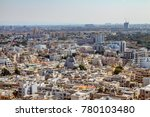 aerial view of south tel aviv... | Shutterstock . vector #780103480