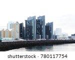 downtown reykjavik  iceland  | Shutterstock . vector #780117754