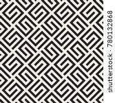 vector seamless lattice pattern.... | Shutterstock .eps vector #780132868