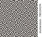 irregular tangled shapes....   Shutterstock .eps vector #780134194
