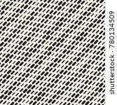 black and white irregular...   Shutterstock .eps vector #780134509