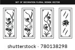 flower decoration. herbs and... | Shutterstock .eps vector #780138298