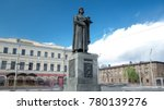monument to the founder of...   Shutterstock . vector #780139276