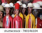 colored statues of men from... | Shutterstock . vector #780146104