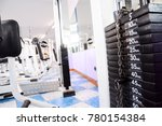 equipment and machines at the... | Shutterstock . vector #780154384