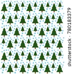 christmas tree background and... | Shutterstock .eps vector #780183379
