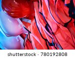 close up of safety equipment ...   Shutterstock . vector #780192808