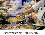 buffet food. catering food... | Shutterstock . vector #780197890