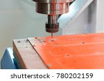 work of the milling machine. | Shutterstock . vector #780202159