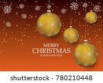 christmas light vector... | Shutterstock .eps vector #780210448