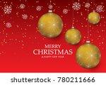 christmas light vector... | Shutterstock .eps vector #780211666