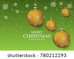 christmas light vector... | Shutterstock .eps vector #780212293