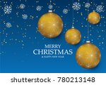 christmas light vector... | Shutterstock .eps vector #780213148