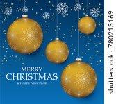 christmas light vector... | Shutterstock .eps vector #780213169