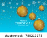 christmas light vector... | Shutterstock .eps vector #780213178