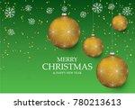 christmas light vector... | Shutterstock .eps vector #780213613