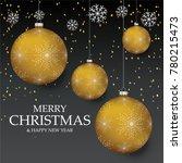 christmas light vector... | Shutterstock .eps vector #780215473