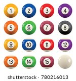 Vector Collection Of Billiard...