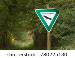 nature protection zone ... | Shutterstock . vector #780225130