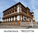 Customs building in Manaus, Built by the British in 1902, Amazonas, Brazil