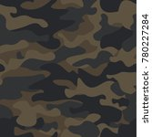 mountain seamless camouflage... | Shutterstock .eps vector #780227284