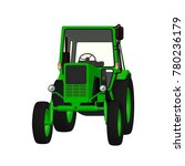 agricultural tractor 3d vector... | Shutterstock .eps vector #780236179