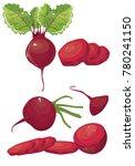 beet vector simple illustration | Shutterstock .eps vector #780241150