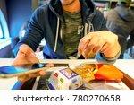 milan  italy   circa november ... | Shutterstock . vector #780270658