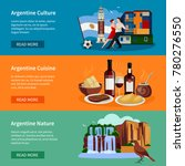 argentina top tourists... | Shutterstock . vector #780276550