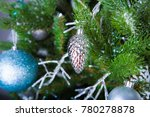 christmas decorations and toys... | Shutterstock . vector #780278878