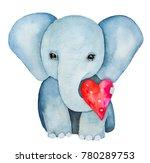 Elephant Kid Character Portrai...