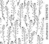 vector seamless pattern with... | Shutterstock .eps vector #780295873