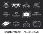 collection of vector logo... | Shutterstock .eps vector #780310468