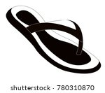 women summer slippers | Shutterstock .eps vector #780310870