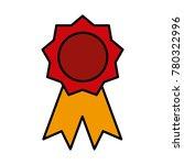award ribbon symbol | Shutterstock .eps vector #780322996