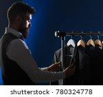 men's clothing  shopping in... | Shutterstock . vector #780324778