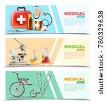 healthcare online 3 medical... | Shutterstock . vector #780329638