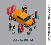 auto service car diagnostics... | Shutterstock . vector #780330664