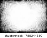dotted halftone background.... | Shutterstock .eps vector #780344860