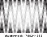 halftone engraving black and... | Shutterstock .eps vector #780344953