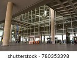 Small photo of Amman, Jordan - April 8, 2016: Queen Alia International Airport entrance. QAIA is one of the best ranked airports in the Middle East.