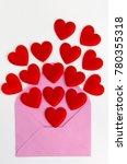 valentine day greeting card...   Shutterstock . vector #780355318