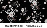 seamless floral pattern in... | Shutterstock .eps vector #780361123