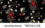 seamless floral pattern in... | Shutterstock .eps vector #780361138