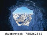 view of the mountains from the... | Shutterstock . vector #780362566