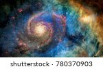 Awesome Spiral Galaxy Many...