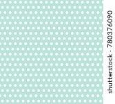 small mint polka dot background....