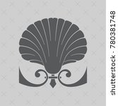 vintage baroque ornament. retro ... | Shutterstock .eps vector #780381748