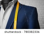 semi ready suit on mannequin... | Shutterstock . vector #780382336