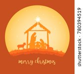 christmas christian nativity... | Shutterstock .eps vector #780394519